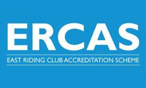 ERCAS East Riding Club Accreditation Scheme logo
