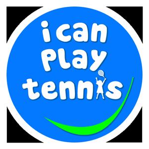 I can play tennis logo