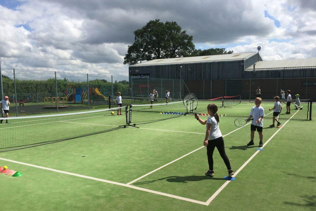 Tennis coaching at Bubwith Tennis Club